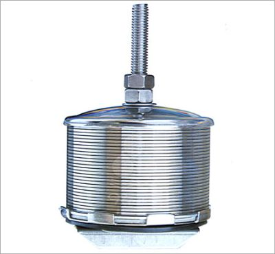 Double and single-velocity strainer